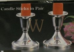 PAIR of CANDLESTICKS (12 Pairs) Silver Plated